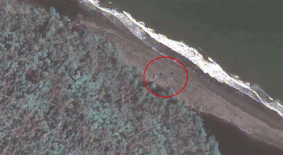 Campamento militar en la playa2