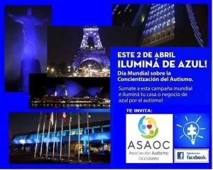 Este 2 de abril Ilumina de Azul