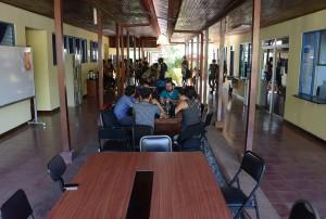 La UCR abrio sus puertas en Esparza