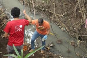 UNA I Jornada de Limpieza del Rio Pirro2
