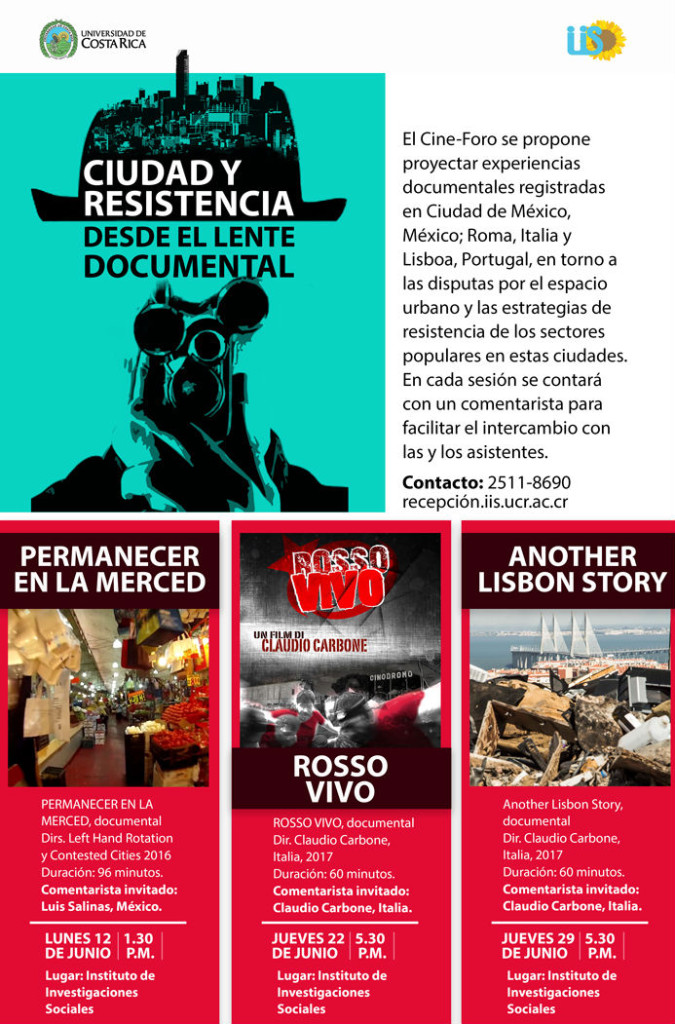 UCR cine foro Ciudad y resistencia