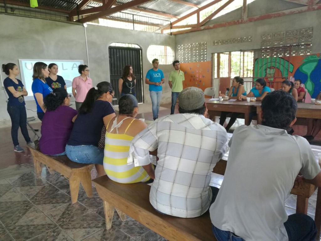 Familias de Upala agradecen apoyo de UCR tras emergencia2