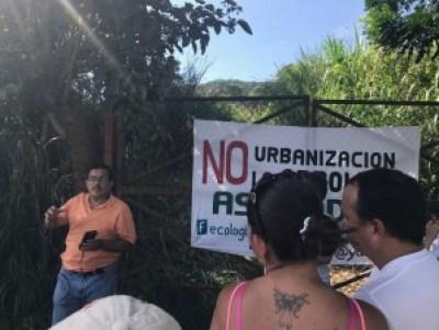 ASECODES lucha por la no urbanizacion de La Arboleda