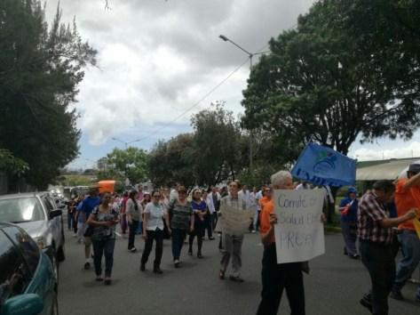 Manifestacion en la Clinica Carlos Duran2