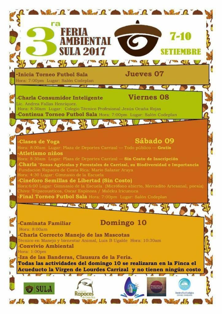 3era Feria Ambiental SULA 2017