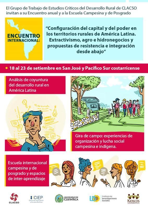 Especialistas y movimientos sociales de la ruralidad Latinoamericana se encuentran en Costa Rica2