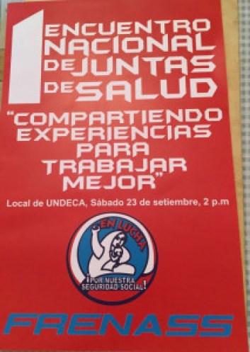 I Encuentro Nacional de Juntas de Salud