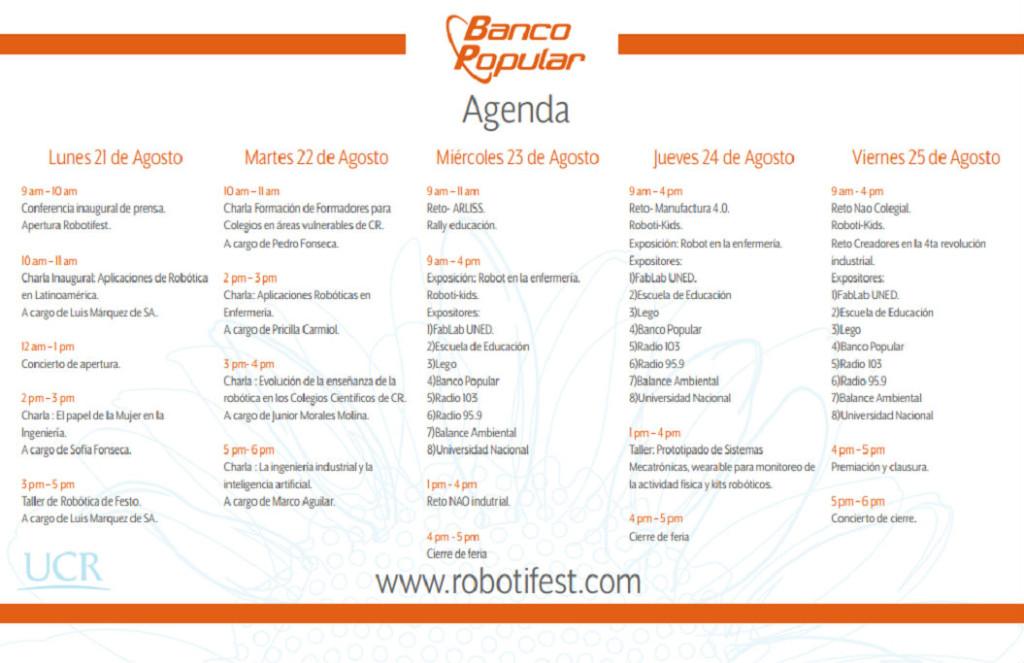 RobotiFestUCR 2017 invita a disfrutar2