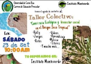 Taller colectivo Conciencia ecologica y bienestar social