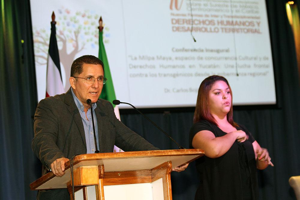 UNA inauguracion IV Jornadas Internacionales trasdisciplinarias6