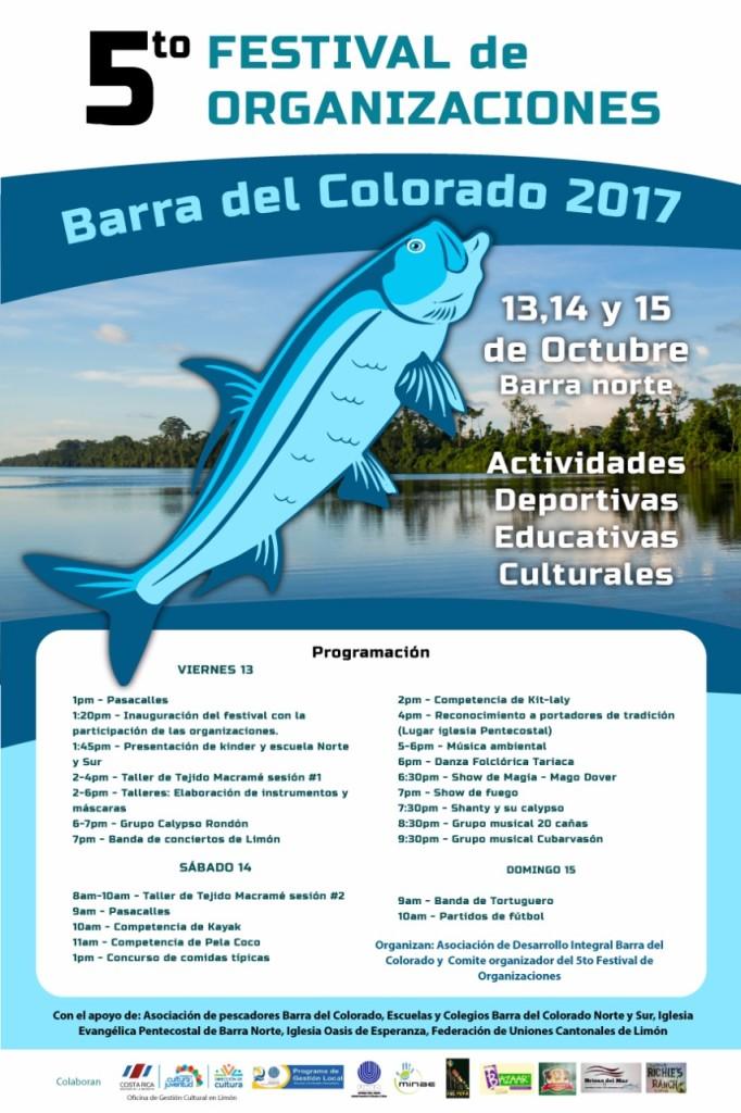 5to Festival de Organizaciones Barra del Colorado 2017