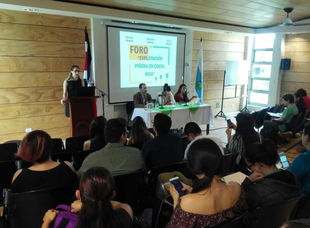 A proposito de un reciente foro sobre la expansion pinera en Costa Rica