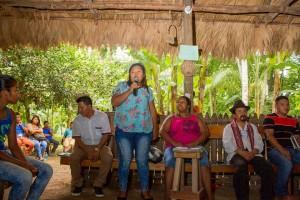 Comunidades originarias compartieron en Talamanca2