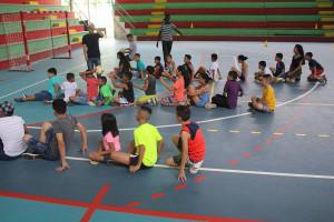 Ninas y ninos de Limon disfrutaron de campamento en Sede del Caribee