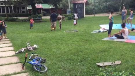Organizan convivencia comunal en Monteverde
