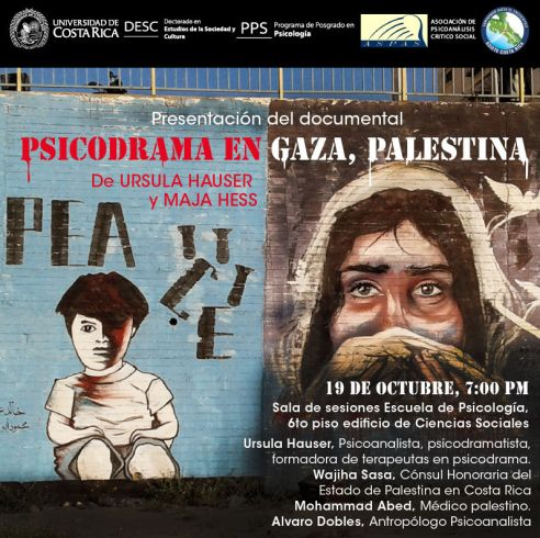 Presentacion de documental Psicodrama en Gaza Palestina