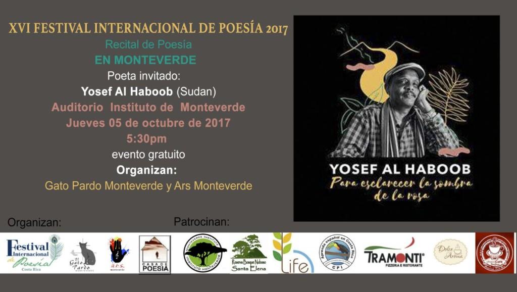 Recital de poesia en Monteverde