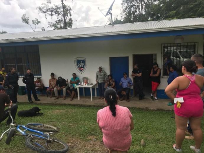 Comunidad de Valle la Estrella solicita mas vigilancia policial2