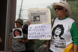 El asesinato de Berta Caceres en Honduras