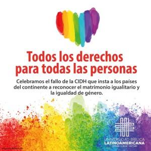 Universidad Biblica Latinoamericana celebra fallo de CIDH
