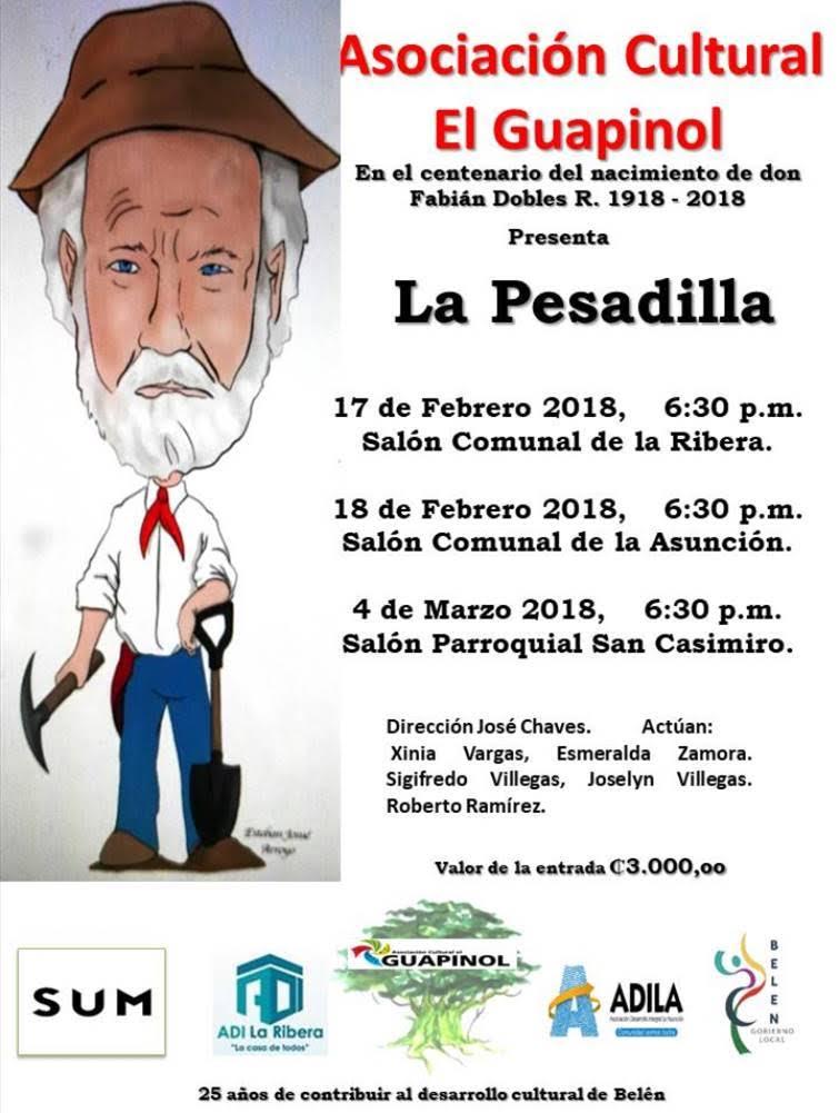 Obra de Teatro La Pesadilla