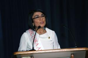 Juramentacion de Rectora Adjunta en la UNA12
