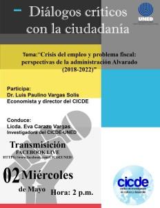 Dialogos Crisis del empleo y problema fiscal