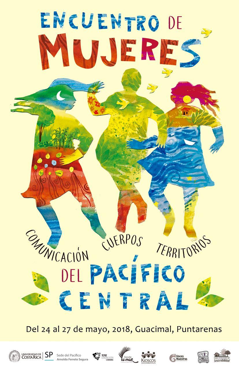 Encuentro de Mujeres Comunicacion Cuerpos Territorios del Pacifico Central