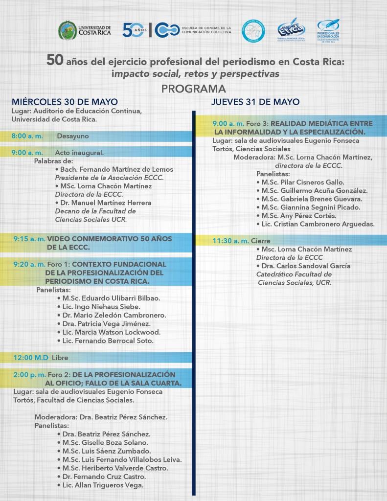 Jornadas de Comunicacion en la UCR