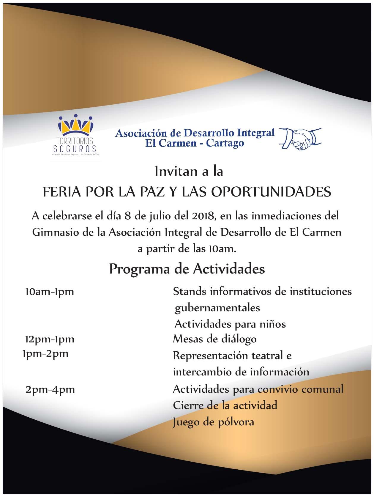 Invitacion Damaris