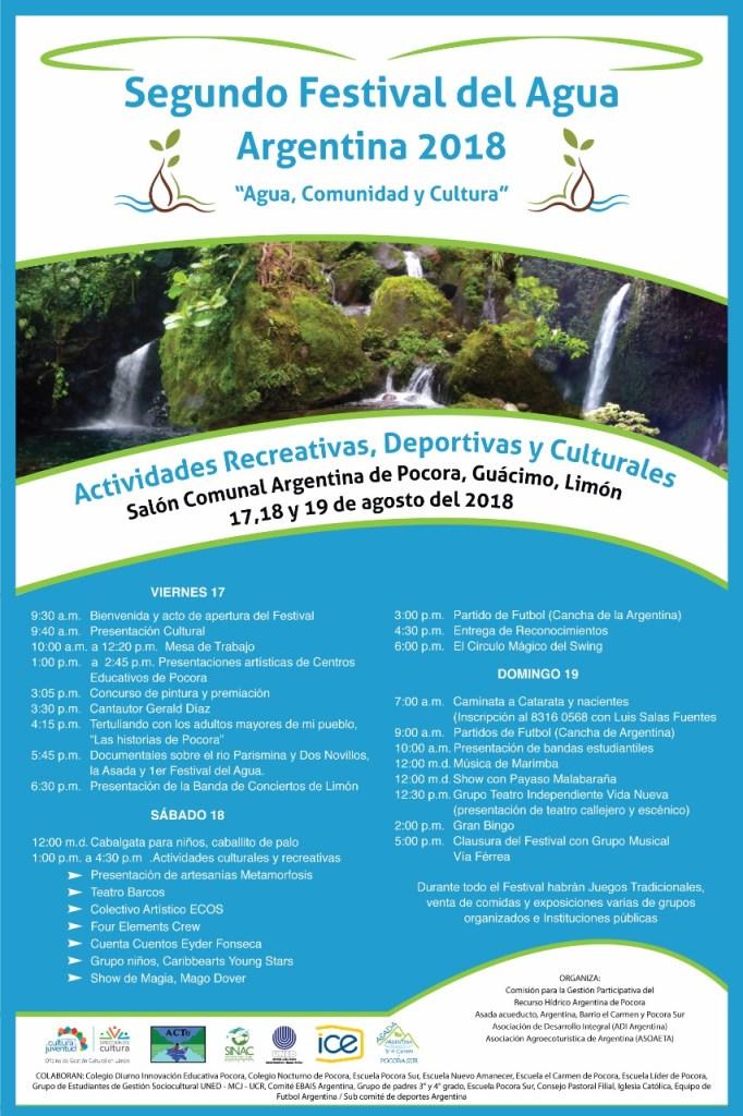 Segundo Festival del Agua Argentina 2018