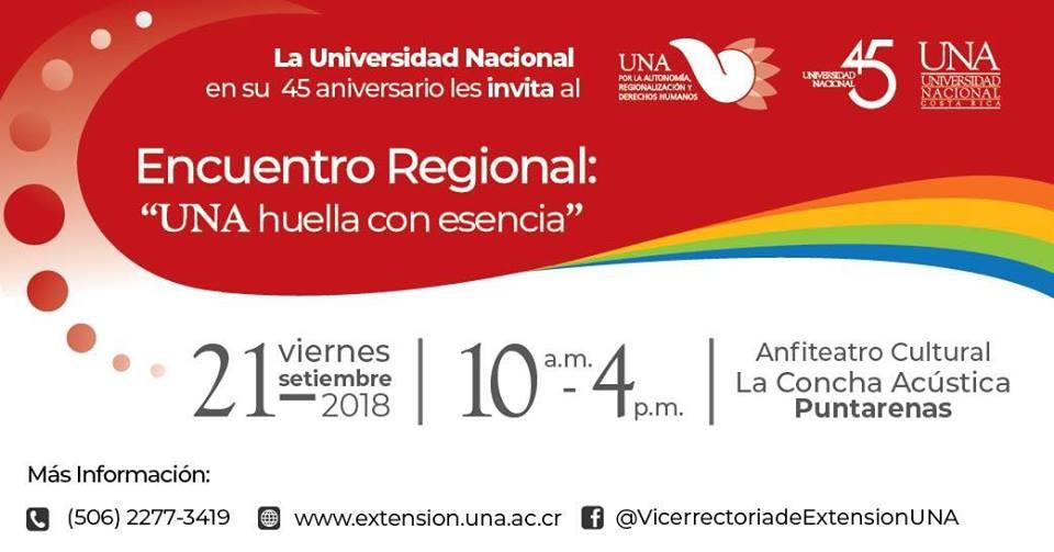 III Encuentro Regional UNA huella con esencia