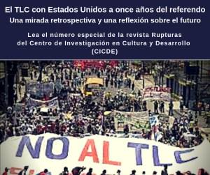 El TLC con Estados Unidos a once anos del referendo
