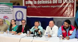 UNDECA,Frente Sindical para la Defensa de la CCSS