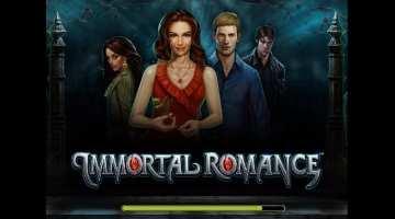 бесплатный игровой автомат онлайн Immortal Romance