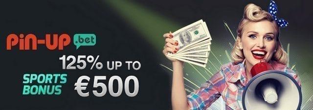 pin up bet bonus