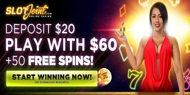 SlotJoint Bonus: Free Spins
