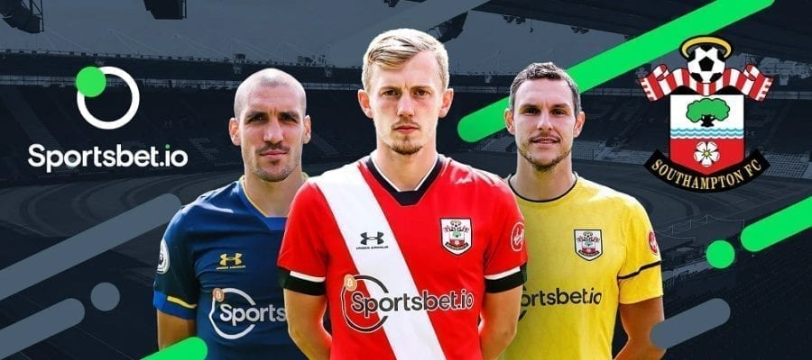 Sportsbet sponsors Southampton Football Club in the EPL