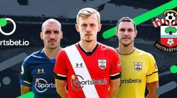 Sportsbet sponsors Southampton Football Club in the EPL