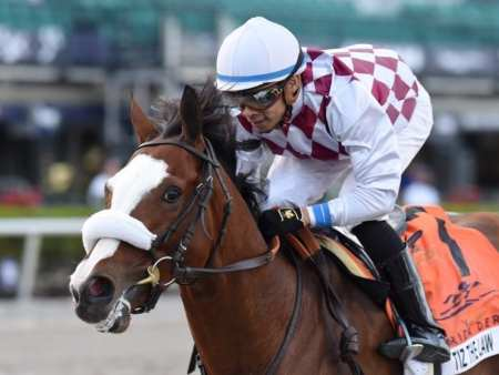 Can Tiz The Law Match Belmont Stakes Success With Victory In The Breeders' Cup?