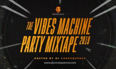 """DJ Consequence – """"The Vibes Machine Party Mixtape 2019"""""""