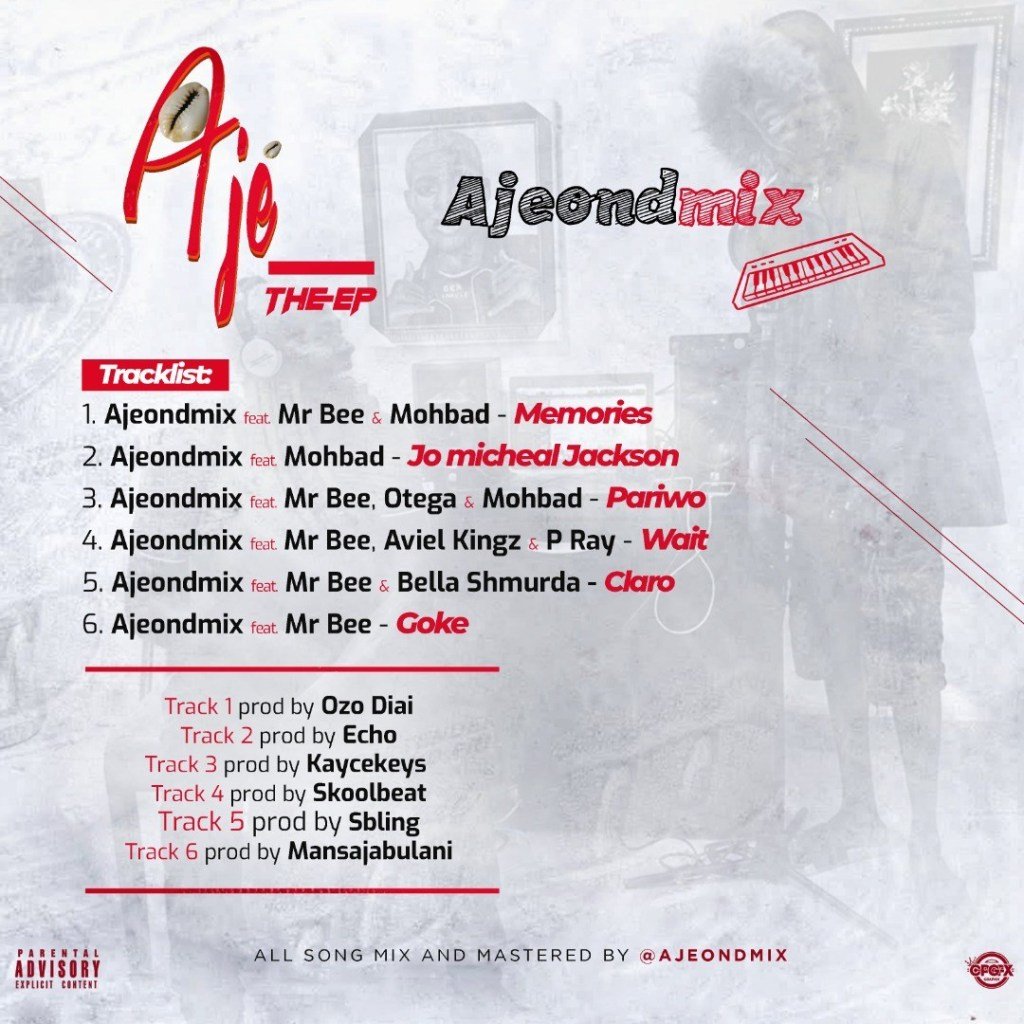 DOWNLOAD Ajeondmix – Aje The EP