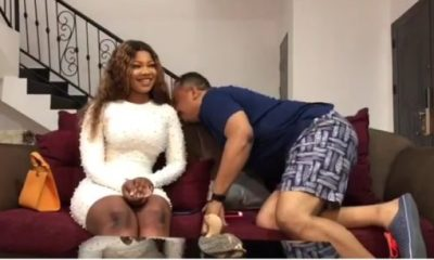 OAP Daddy Freeze Smelled Tacha To Confirm Her Body Odor And This Happened   Watch