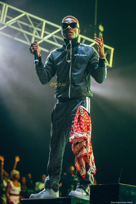 #STARBOYFEST Wizkid Makes History at the O2 Arena London