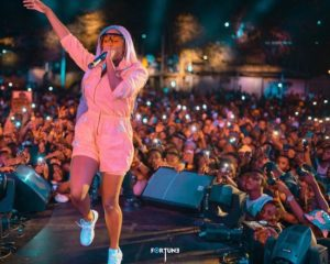 DJ Cuppy Ends Vacation In Dubai To Join #EndSARS Protest In Lagos State