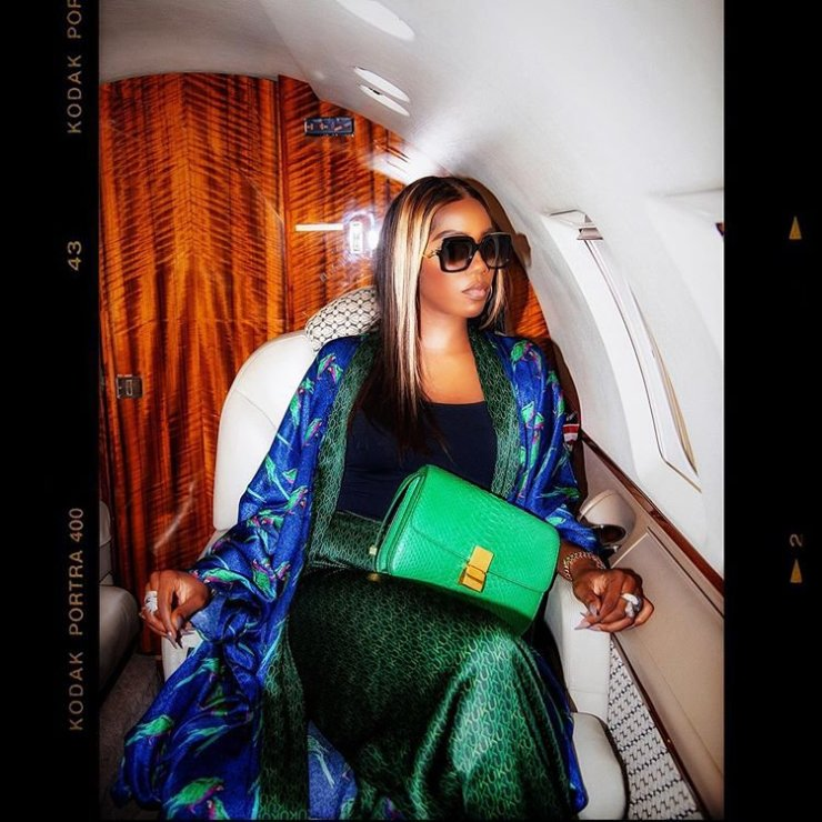 Chioma is enjoying a lot of attention, Davido well done – Tiwa Savage says