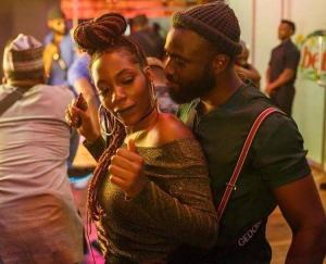 Gedoni and Khafi's PDA at an eatery in Lekki captured unaware