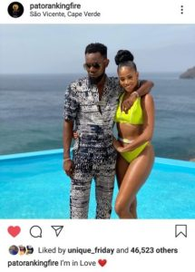 Patoranking Is In Love With A Cape Verdean Lady (Photos)