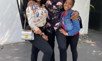 From Me And My Girls - Basketmouth Shares Adorable Photo Of His Family