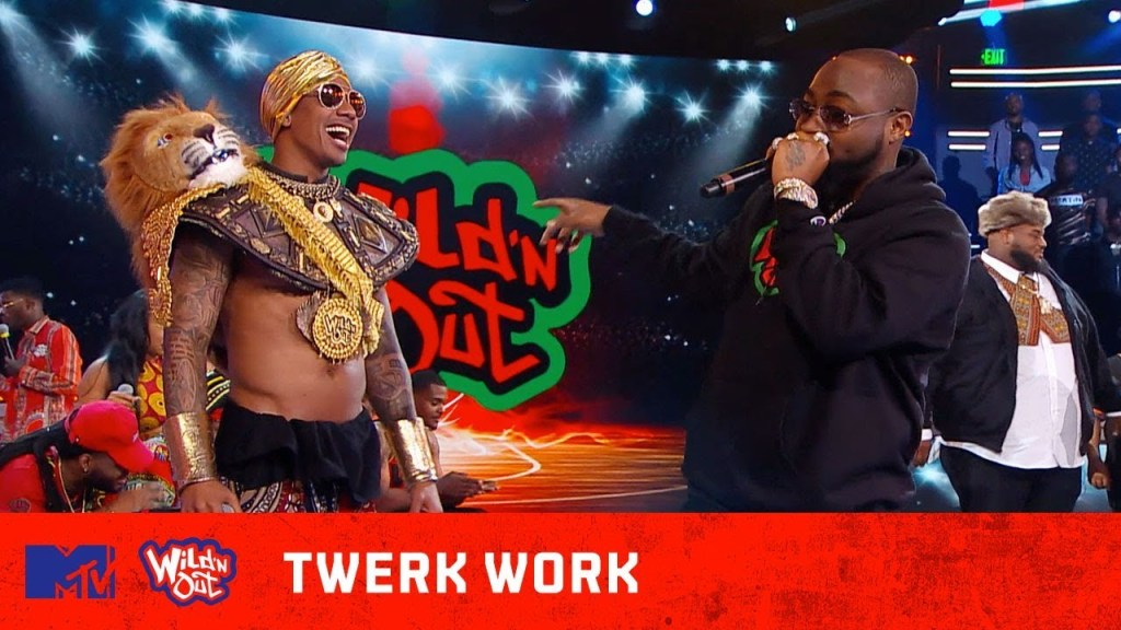 VIDEO: Davido Fashioned Look In Nick Cannon's 'Wild N' Out'Show